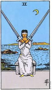 Tarot 2 of Swords image