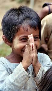 Child Namaste Mudra