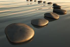 Stepping Stones on Water