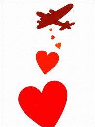 plane love bomb