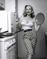Sexy in the kitchen