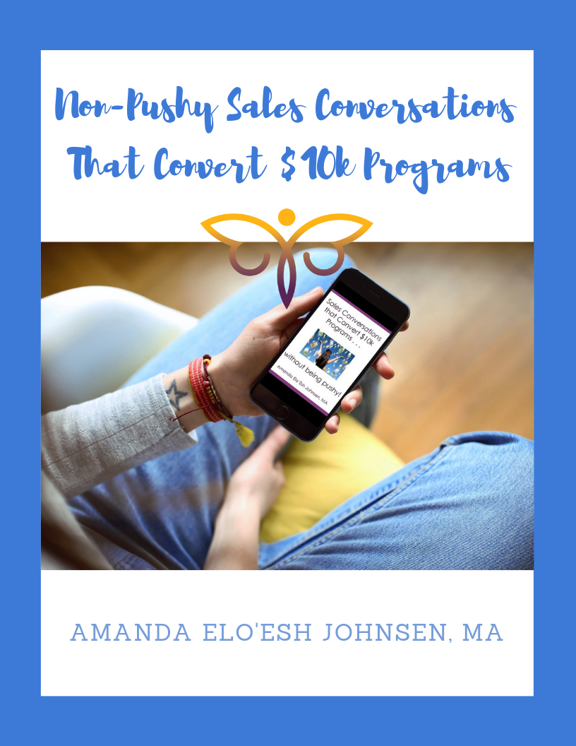 Non-Pushy Sales Conversations That Convert $10k Programs