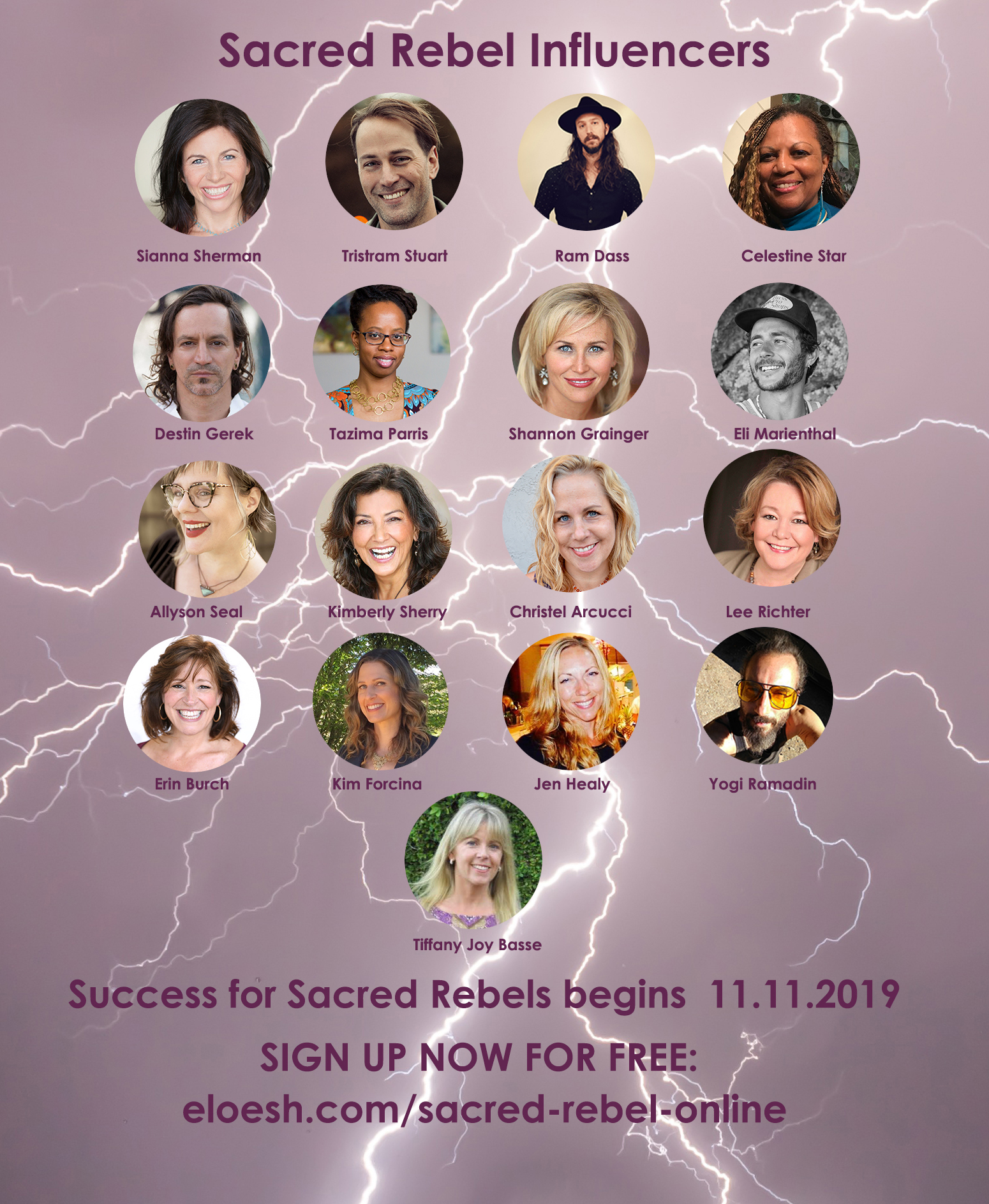 Sacred Rebel Influencers