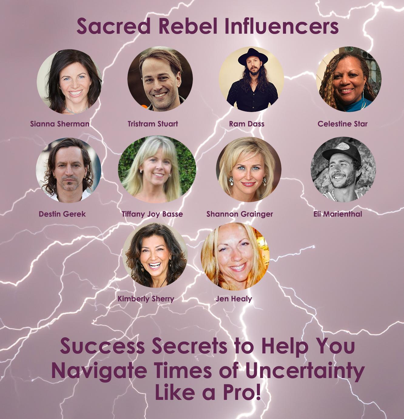 Sacred Rebel Influencers top 10
