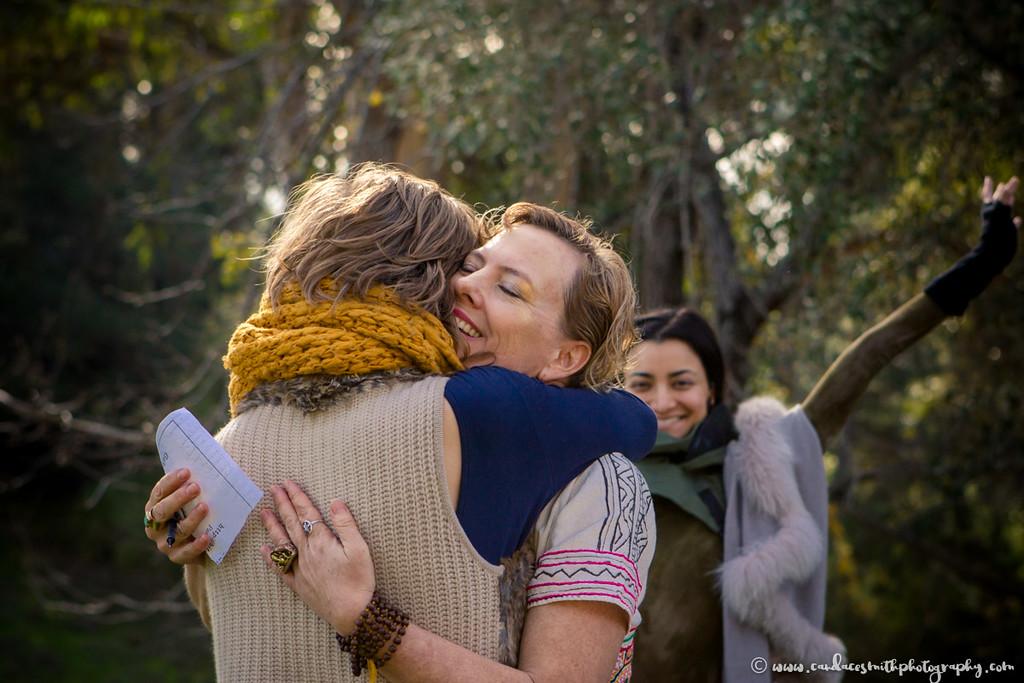 LWS Amanda hug Rachel