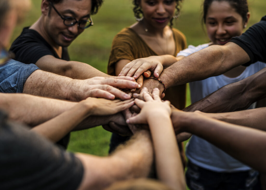 Group,Of,Diversity,People,Hands,Stack,Support,Together