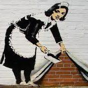 banksy - sweep under the rug